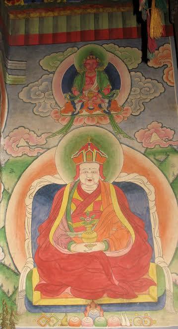 Pema Lingpa, Temple de Dawathang, Bumthang. Photo F. Pommaret